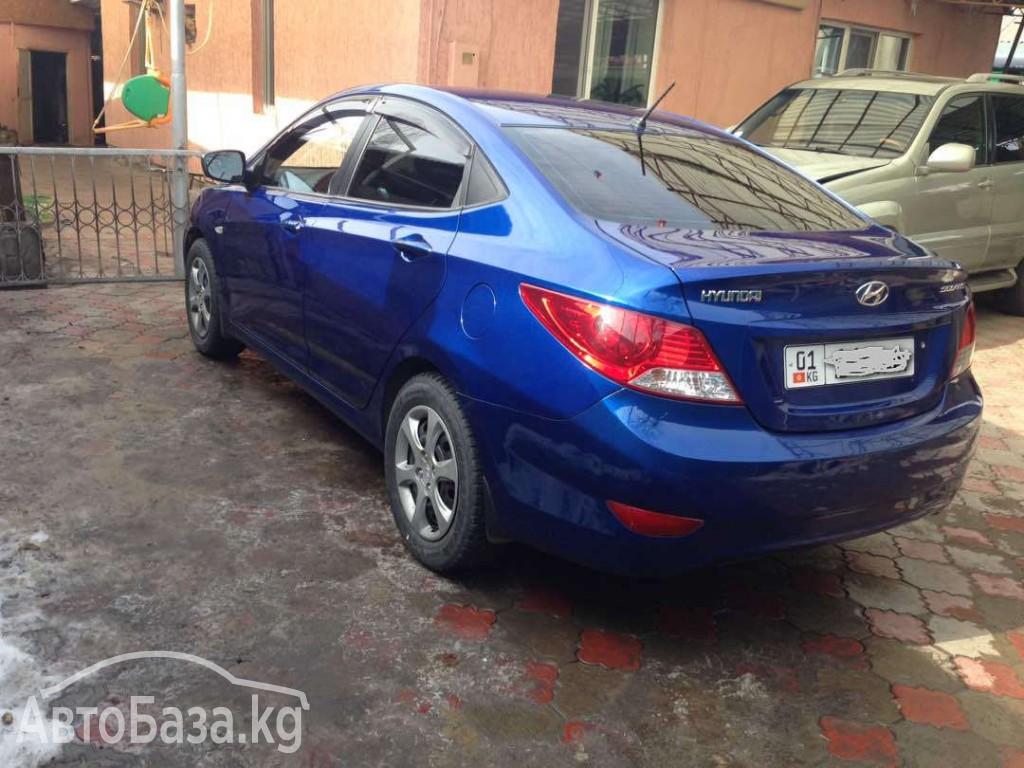 Hyundai Solaris 2011 года за ~615 400 сом