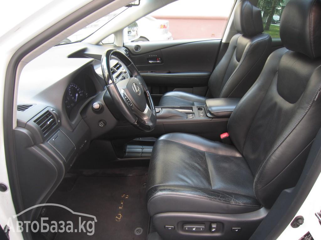 Lexus RX 2012 года за ~2 022 300 сом